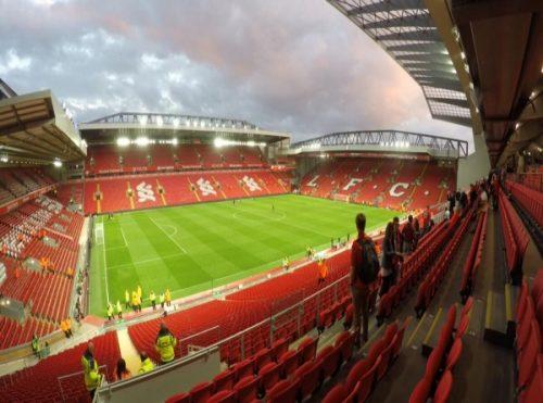 Liverpool fotballreiser -plassene